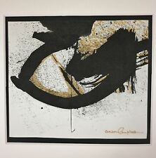 "ANSON B CAMPBELL (1918-1989) Wash DC Abstract Expressionist ""Sumi"" Ink Painting"