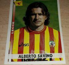 FIGURINA CALCIATORI PANINI 2000-01 LECCE SAVINO ALBUM 2001