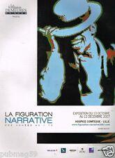 Publicité advertising 2007 Exposition La Figure Narrative Hospice Comtesse Lille