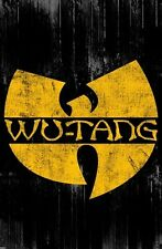 """THE WU-TANG CLAN POSTER """"W"""" BRAND NEW """"LICENSED"""" LARGE SIZE 61cm X 91.5cm"""