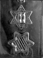 STAR OF DAVID POUR BOX R29 mold Chocolate Candy jewish Israeli Flag