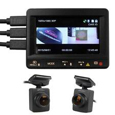 Ambarella A7LA70 K1S Mini 2CH Car Dash Cam Dual Camera DVR HD 1080p Lesns w/ GPS