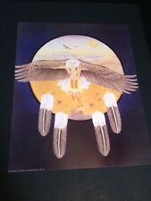 """Eagle Dancer Large 16"""" X 20"""" Picture Print New In Lithograph"""