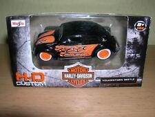 Maisto Harley-Davidson Personalizzato Volkswagen Beettle H-D Design, 1:64