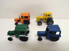 JOB LOT OF 4 X CORGI JUNIORS TRACTORS LOOSE (BS1040)