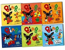 Bing Bunny Story As seen On TV 6 Books Collection Set