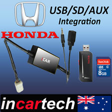 Honda Accord/Accord Euro/Civic/Jazz Factory Radio USB/AUX/SD Adaptor Aus Stock