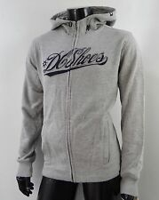 New Dc Shoes Riders Hoodie Logo Gray Mens Size Small MHD-146