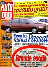 AUTO OGGI # Anno X - N.29 - 27 Luglio 1995 # A.Mondadori # Rivista settimanale