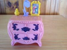 vintage 1998  by hasbro dolls house chest drawers in plastic