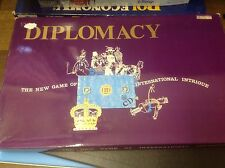 DIPLOMACY GAME - 100% - DIPLOMACY - STRATEGY GAME - VERY GOOD CONDITION -