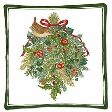 HOLIDAY Wren & Wreath Scented Hot Pad - Protects surfaces with a wonderful Aroma