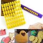 Number Alphabet Letter Cake Mould Biscuit Cookie Cutter Press Stamp Embosser