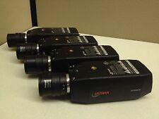 LOT of 4 Ultrak KC552BCN Color CCTV Camera w/ 3.5-8mm Manual Iris Lens 24V AC