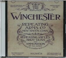 1900 Winchester Repeating Arms Catalogue No. 65 on CD - Rifles, Shot Guns, Ammo