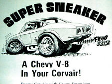 1965-1969 CHEVY CORVAIR V8 CROWN CONVERSION KIT AD -283/350/383/engine/Corv-8