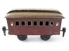 Marklin Prewar O Gauge Pennsylvania Railroad Passenger Car #2942 4 Wheel Tin