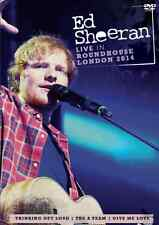 ED SHEERAN LIVE IN ROUNDHOUSE LONDON 2014 DVD 17 TRACKS ALL REGIONS SEALED!!!
