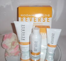 Rodan + and Fields Reverse Skin Brightening Regimen 4pc Set Kit Brown Spots