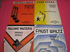 VINTAGE 3  CALUMET MUSIC BOOKS FALLING WATERS ANITRA'S DANCE FAUST WALTZ  (M175)