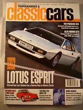 Thoroughbred & Classic Cars magazine - March 2000 - Lotus Esprit - DS21 - 914 -
