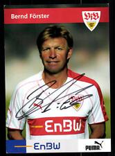 Bernd Förster Autogrammkarte VFB Stuttgart Original Signiert + 85316