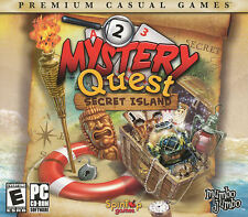 MYSTERY QUEST SECRET ISLAND Puzzle Mystery PC Game NEW!