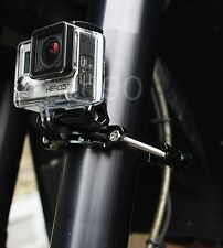 Motorcycle mount for GoPro HD Hero 2 3 4 Roll bar Bike Ski Surf