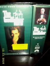 The Godfather Collection Trilogy Widescreen Edition VHS MINT unopened In Box
