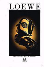 PUBLICITE ADVERTISING 064  1992  LOEWE   maroquinerie sacs de luxe