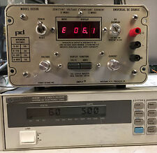 Power Designs 6050B Variable DC Power Supply 0 to 60V @ 1.0A Load Tested