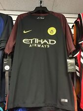 2016-17 Manchester City Soccer Away Jersey Short Sleeves Small Premier League