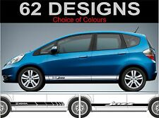 honda jazz type r type s mugan side stripes decals stickers