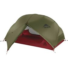 MSR Hubba Hubba NX Green Two Person Lightweight Compact Motorcycle Tent