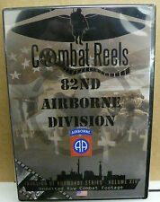 COMBAT REELS DVD 82ND AIRBORNE DIVISION INVASION OF NORMANDY COMBAT FOOTAGE NEW
