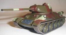 1/72 T-34 / 85 Soviet tank WWII Diecast model &13 magazine FABBRI Russian tanks