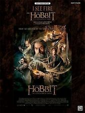 I See Fire (from The Hobbit: The Desolation of Smaug): Easy Piano (Sheet), Coate