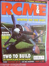 RCM&E OCTOBER 2002 TYPHOON & SKYLARK PRO PLANS CYRILL CARR RENO RACER SPEED 400