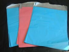 100 10x13 PINK AND BLUE POLY MAILERS ENVELOPES SHIPPING BAGS PLASTIC SELF SEAL