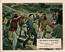 The Stand At Apache River Original Lobby Card Stephen McNally