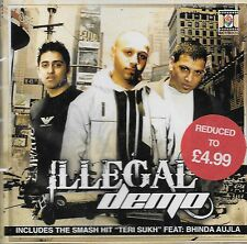 ILLEGAL DEMO - BRAND NEW BHANGRA CD SONGS - FREE UK POST