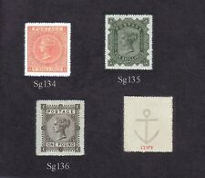 Queen Victoria 1867-83 High Values Set of 3 (forgeries)