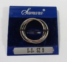 SAMARA Sterling Silver Ring Womens Size 9 NEW WITH TAGS