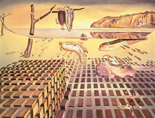 Salvador Dali The Disintegration of the Persistence of Memory Print Poster 11x14