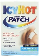 Icy Hot Extra Strength Medicated Patch, Small, 5 Each