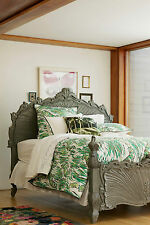 NEW ANTHROPOLOGIE ROAMING WILD MOSS COLLECTION DUVET COVER TWIN 300 THREAD COUNT