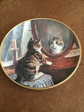 Collectors Plate Franklin Mint  Cats Picture Perfect By Frank Paton