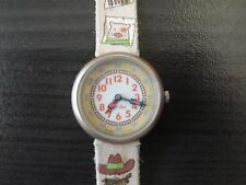 Swatch Flik Flak kids wristwatch eta 2004 Cowboy