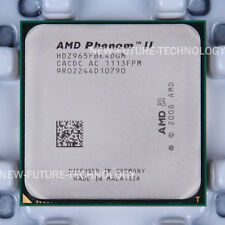 HDZ965FBK4DGM- AMD Phenom II X4 965 3.4 GHz 2000 MHz Socket AM3 US free shipping
