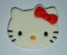 1 x Hello Kitty cupcake topper edible sugar paste cake decoration birthday party
